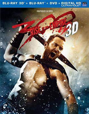 300:RISE OF AN EMPIRE 3D BY HEADEY,LENA (Blu-Ray)