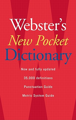 Webster's New Pocket Dictionary By Webster's New College Dictionary (COR)